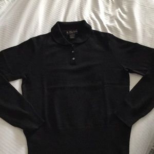 Brooks Brothers wool/silk/cashmere blend sweater